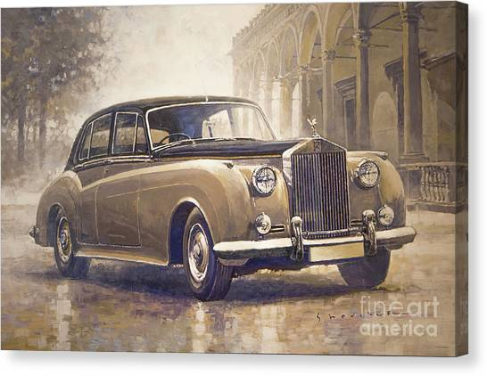 Auto Canvas Print - 1959-62 Rolls-royce Silver Cloud II by Yuriy Shevchuk