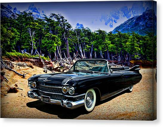 1959 Cadillac Eldorado Biarritz Convertible Canvas Print
