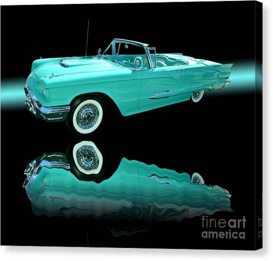 1959 Ford Thunderbird Canvas Print