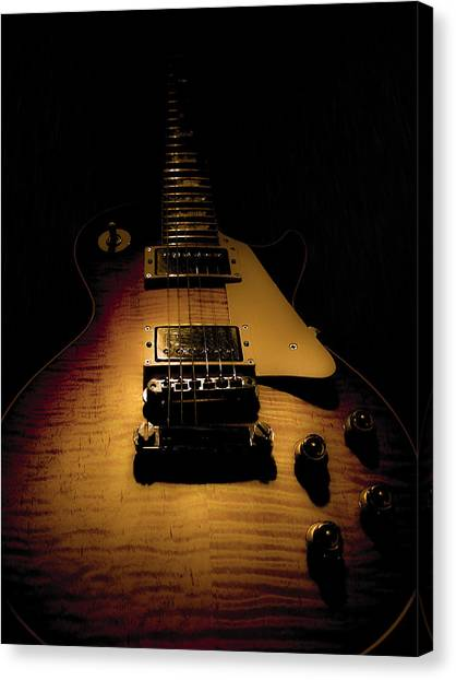 1960 Reissue Guitar Spotlight Series Canvas Print