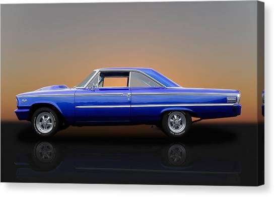 1963 Ford Galaxie 500 - 406 Tri-power Canvas Print