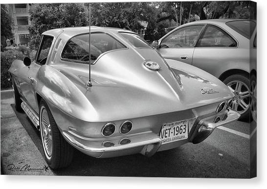 1963 Split Rear Window Coupe Canvas Print