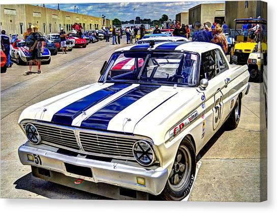 1964 Ford Falcon #51  Canvas Print