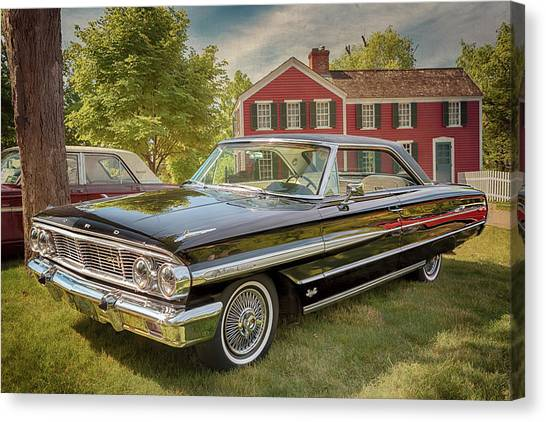 1964 Ford Galaxie 500 Xl Canvas Print