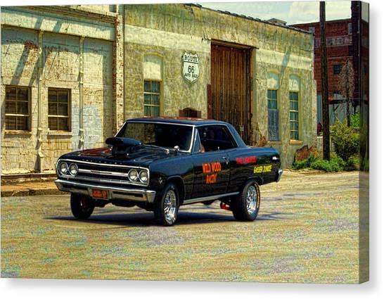 1965 Chevelle Gasser Canvas Print