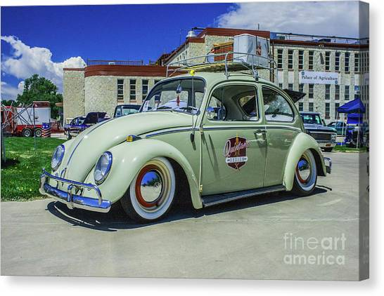 1965 Volkswagen Bug Canvas Print