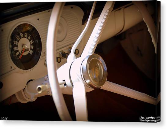 1966 Ford F100 Interior Canvas Print