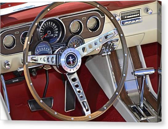 1966 Mustang Canvas Print