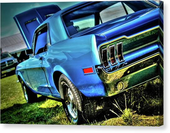 1968 Ford Mustang Canvas Print