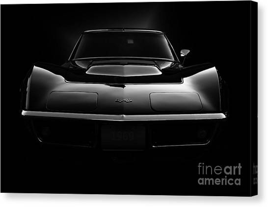 1969 Corvette  Canvas Print