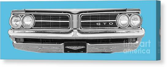 Canvas Print - 1969 Pontiac Gto  by Jack Pumphrey
