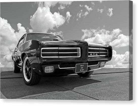 1969 Pontiac Gto The Goat Canvas Print