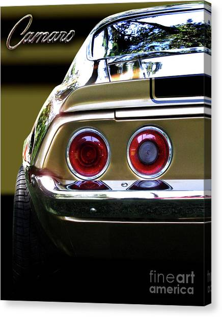 1970 Camaro Fat Ass Canvas Print
