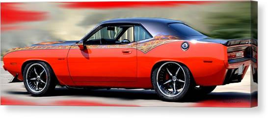 1970 Dodge Challenger Srt Canvas Print