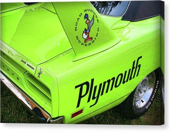 Sublime Canvas Print - 1970 Plymouth Superbird by Gordon Dean II