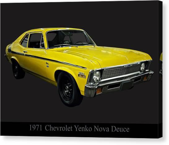 1971 Chevy Nova Yenko Deuce Canvas Print