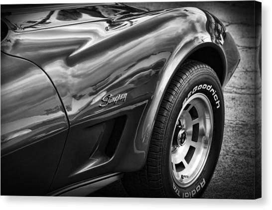 1973 Chevrolet Corvette Stingray Canvas Print