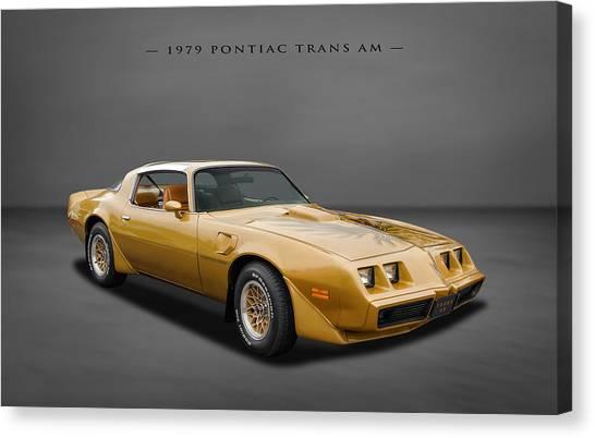 1979 Pontiac Firebird Trans Am Canvas Print