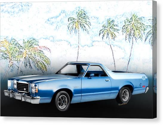 1979 Ranchero Gt 7th Generation 1977-1979 Canvas Print