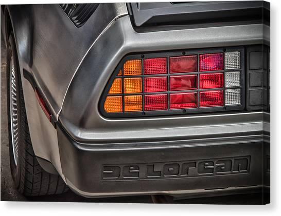 1981 Delorean Canvas Print