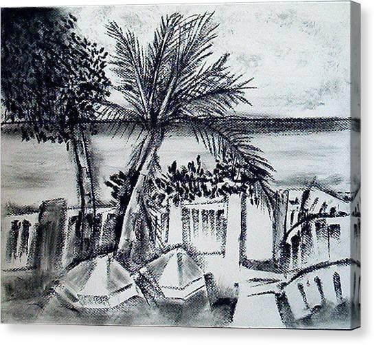 1st La Playa  Canvas Print