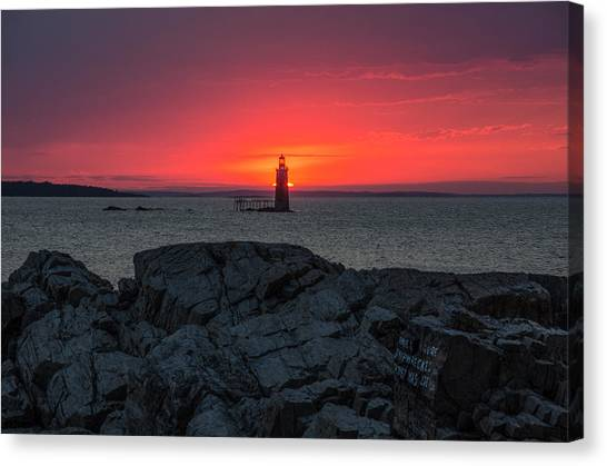 1st Light Canvas Print