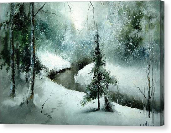 1st Of January Canvas Print