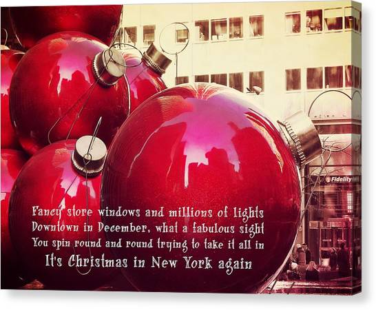 6th Avenue Quote Canvas Print by JAMART Photography