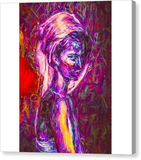Money Canvas Print - A Model #art #fineart by David Haskett II