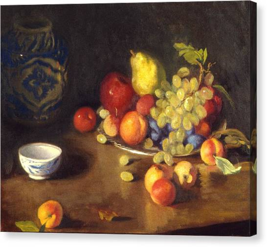 Abundance Of Fruit Canvas Print by David Olander