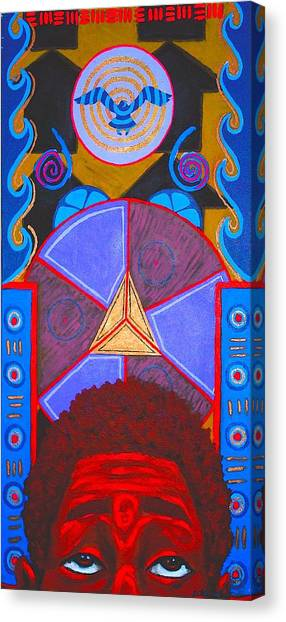 Aesthetic Ascension Canvas Print by Malik Seneferu