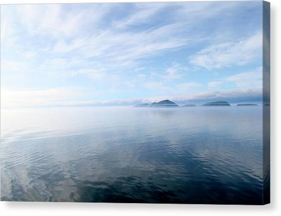 Canvas Print featuring the photograph Alaska by Lucian Capellaro
