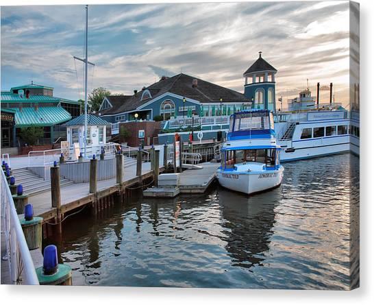 Alexandria Waterfront I Canvas Print