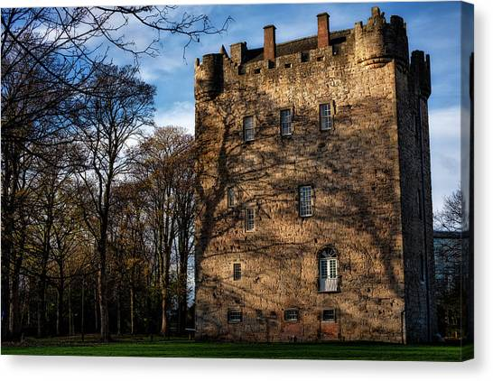 Canvas Print featuring the photograph Alloa Tower by Jeremy Lavender Photography