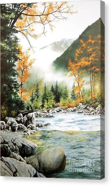 Alpine Tapestry Canvas Print