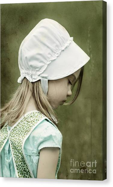Amish Child Canvas Print