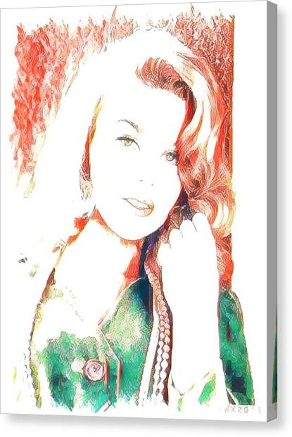 Anthony Hopkins Canvas Print - Ann Margaret by Ant Jones