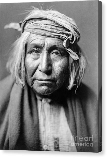 Native Americans Canvas Print - Apache Man, C1906 by Granger