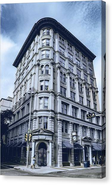 Moscow Skyline Canvas Print - Archtectural Building 2 by Celestial Images