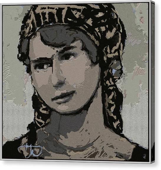 Artist Milka Tsenova Canvas Print