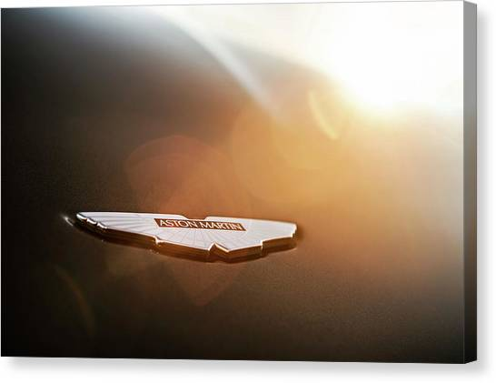 Aston Martin Wings Canvas Print by Drew Phillips