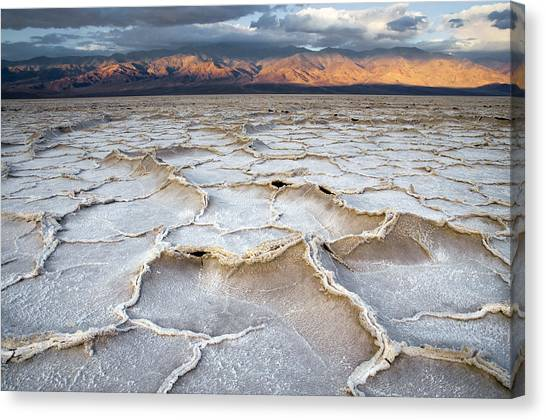 Badwater Sunrise Canvas Print