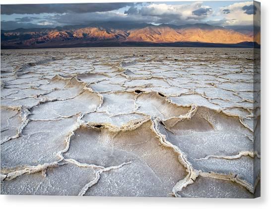 Badwater Sunrise Canvas Print