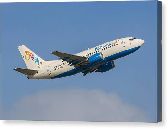 Bahamas Air Canvas Print
