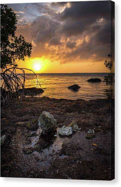 Bahia Honda Sunset Canvas Print