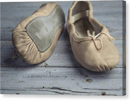 Ballet Shoes Canvas Print - Ballet Shoes by Nailia Schwarz