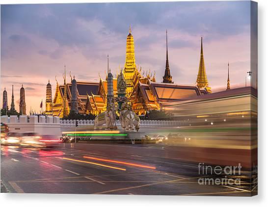 Bangkok Wat Phra Keaw Canvas Print