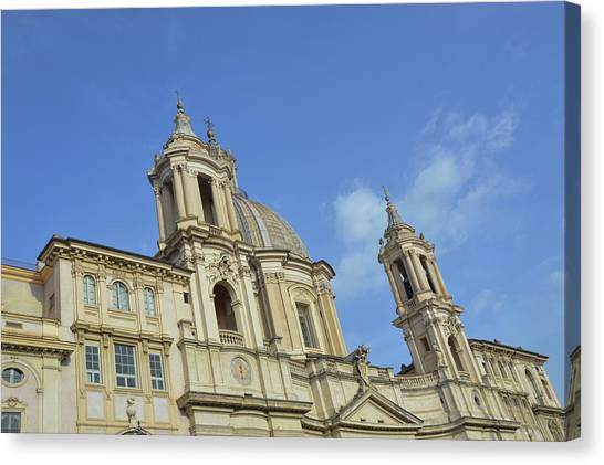 Baroque Church Canvas Print by JAMART Photography