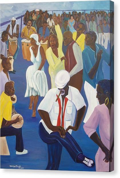 Batarumba Canvas Print by George Chacon