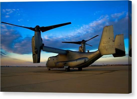 Osprey Canvas Print - Bell Boeing V-22 Osprey by Jackie Russo